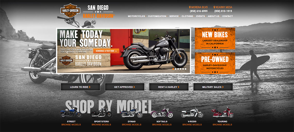 Blog San Diego Harley Davidson Claims Lifetime Partnership